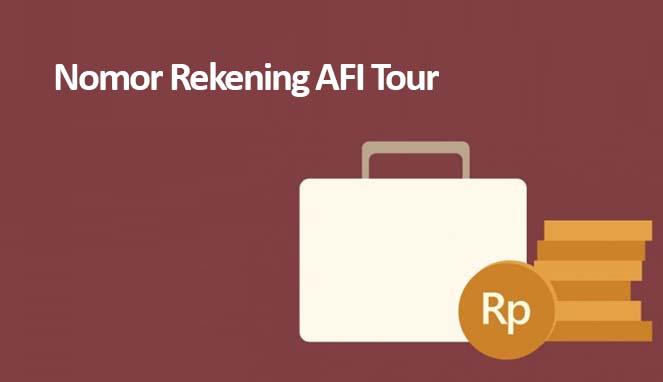 Rekening Afi Tour