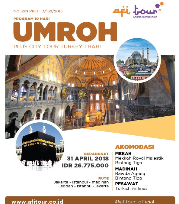 Umroh Plus Turkey – City Tour