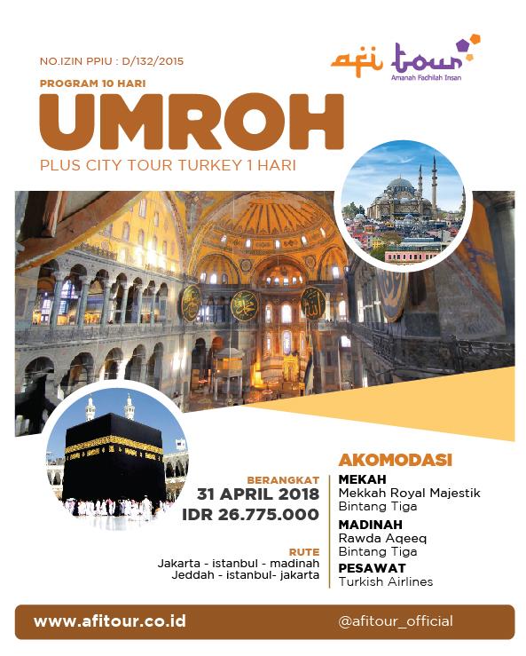 Umroh Plus Turkey – City Tour