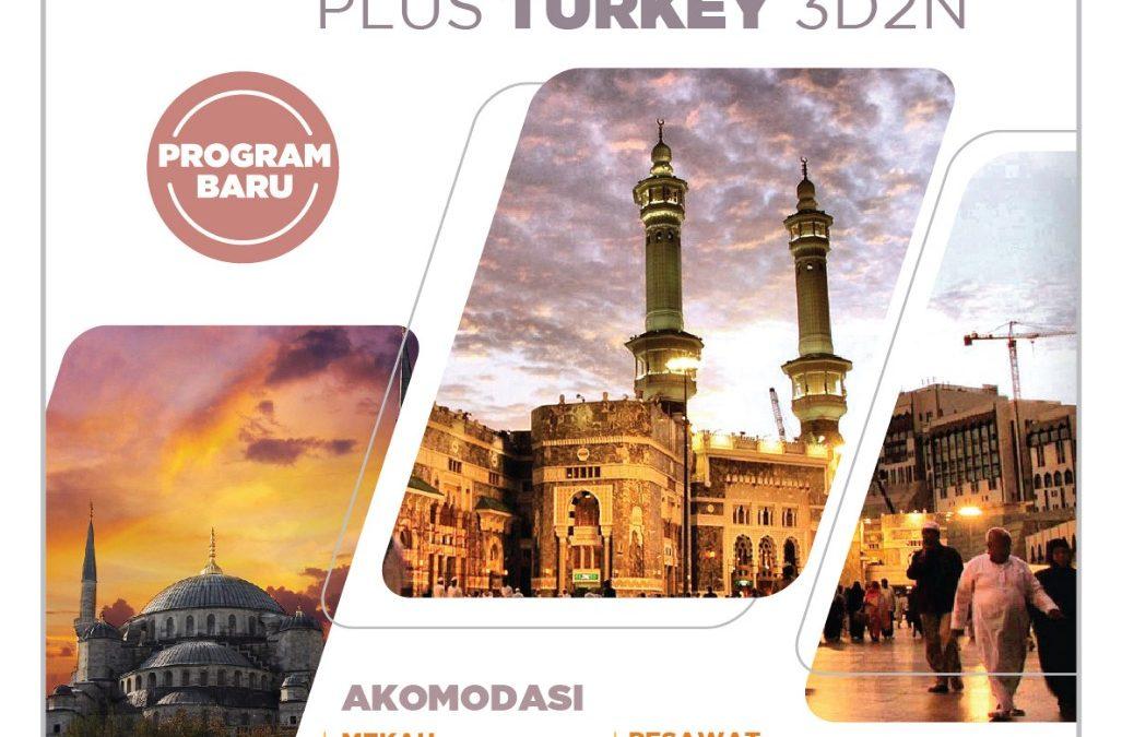 Paket 12 Hari Turkey April 2018