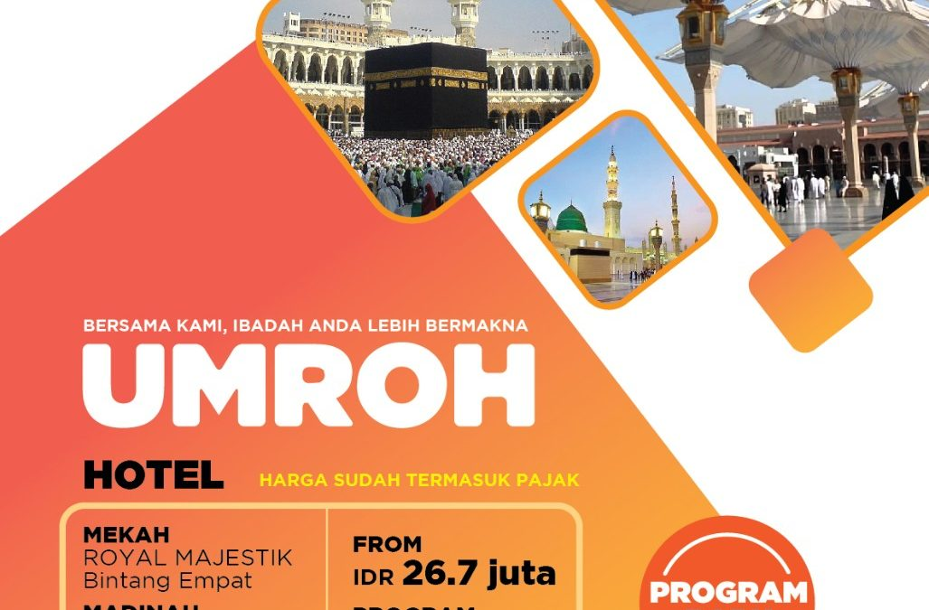 Program Surabaya-Madinah 9 Hari 13 Maret 2018