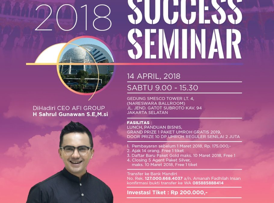 GRAND SUCCESS SEMINAR