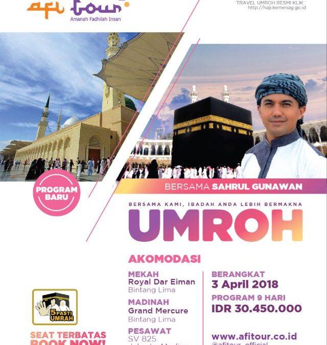 Paket Umroh 3 April 2018