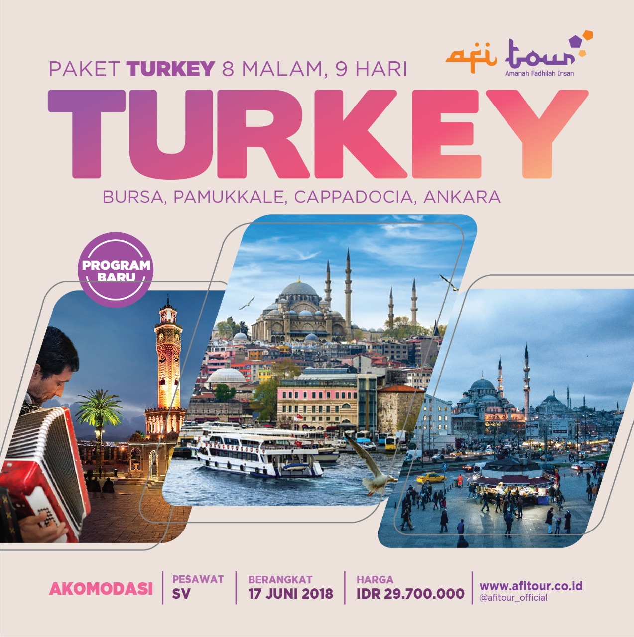 Tour Turkey 8N 9D