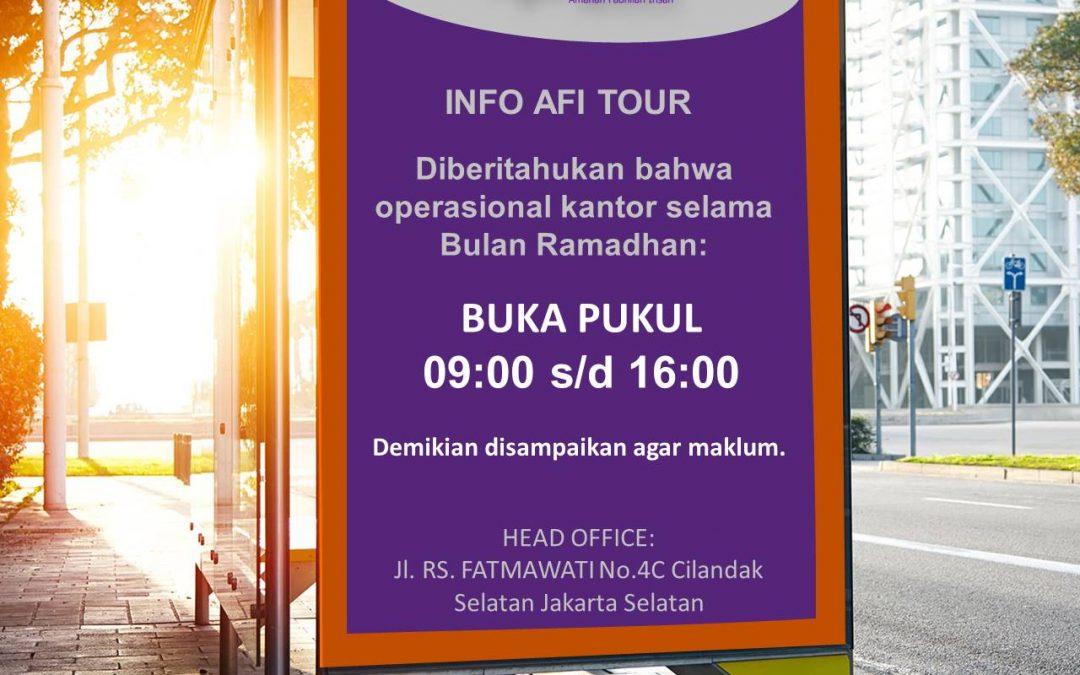 Info Afi Tour