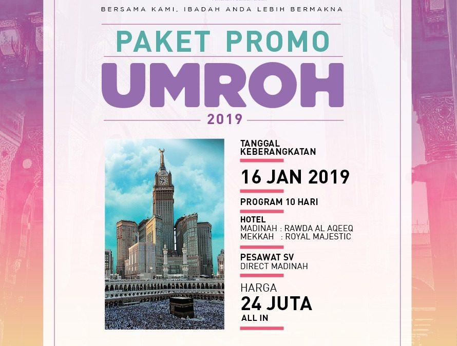 PAKET PROMO TERBARU 10 HARI 16 JANUARI 2019