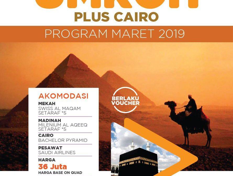 UMROH PLUS KAIRO 30 MARET 2019