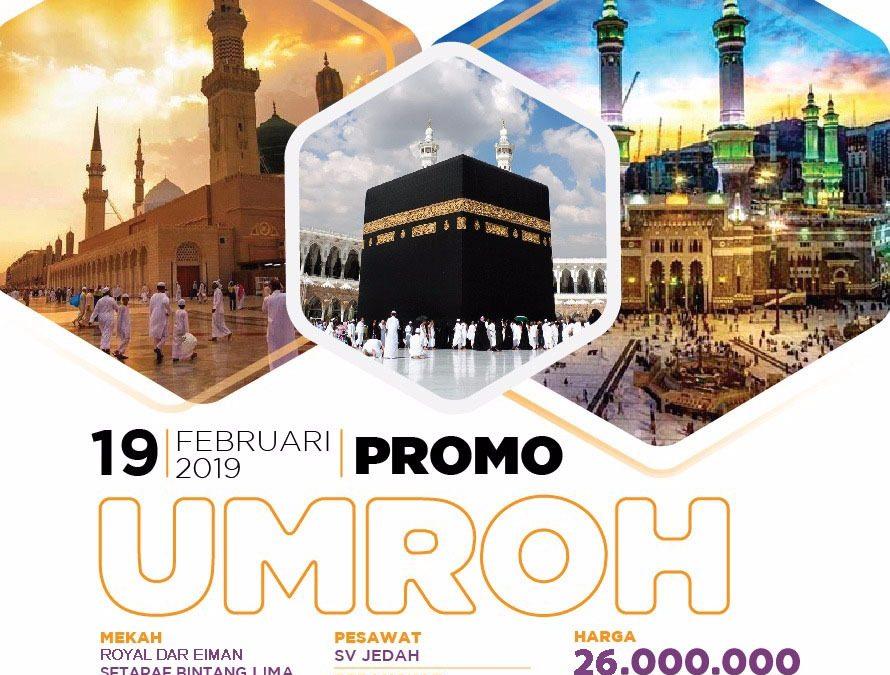 UMROH PROMO 19 Februari 2019