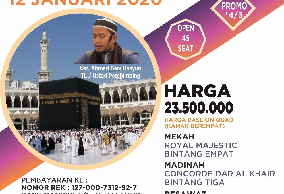 PROMO 12 JANUARI 2020 PROGRAM 9 HARI