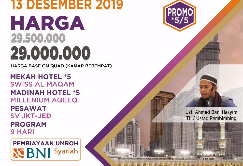 PROMO 13 DESEMBER 2019 PROGRAM 9 HARI