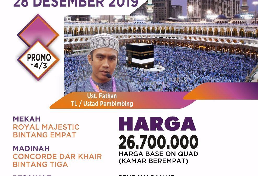 PROMO 28 DESEMBER 2019 PROGRAM 9 HARI