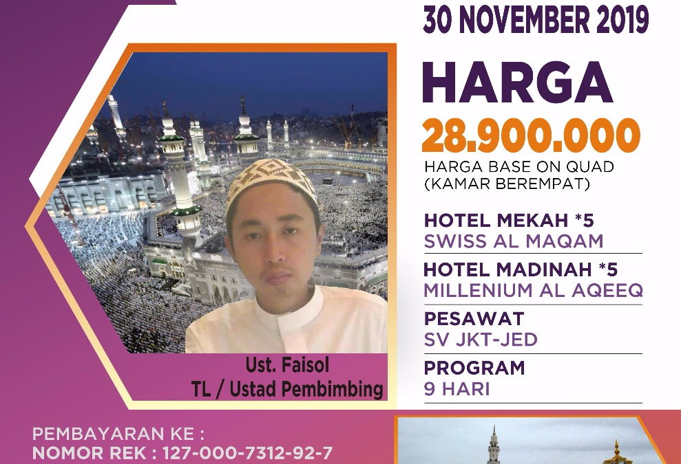 PROMO 30 NOVEMBER 2019 PROGRAM 9 HARI