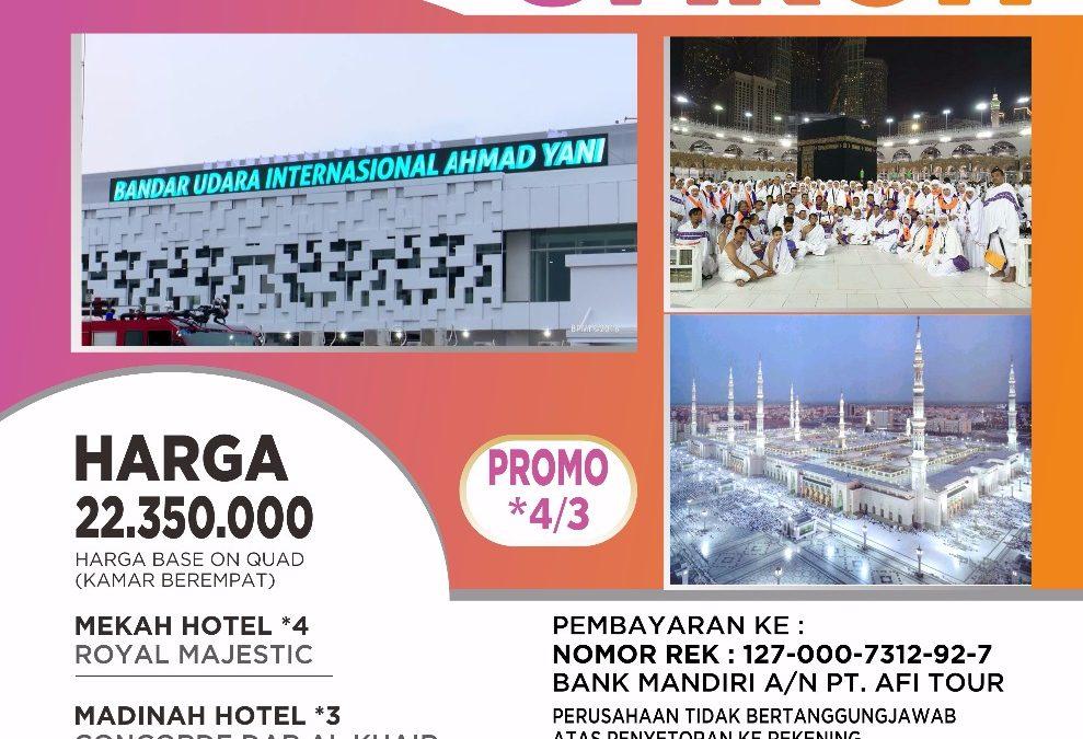PROMO SEMARANG-JEDDAH 25 Januari 2020