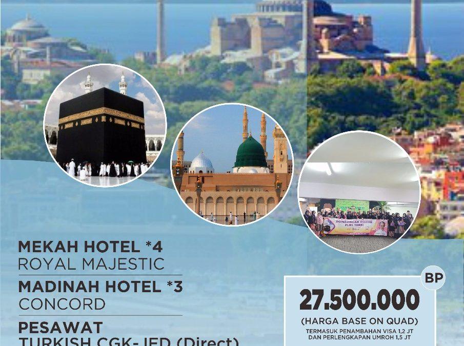 UMROH PLUS CITY TOUR TURKI 25 JANUARI 2020