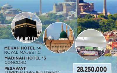 UMROH AFITOUR CITY TOUR TURKY 22 FEBRUARI 2020