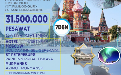 AFITOUR WISATA MUSLIM RUSIA 16 OKTOBER 2020