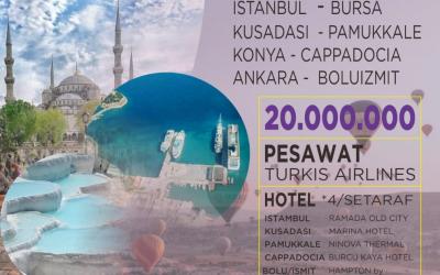 AFITOUR WISATA MUSLIM TURKI 15 MARET 2020